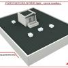 Postup montáž střechy v systému RpSt 01