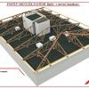 Postup montáže střechy v systému RpSt 05