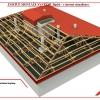 Postup montáže střechy v systému RpSt 09