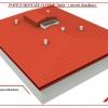 Postup montáže střechy v systému RpSt 10