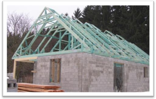 Střecha s využitým půdním prostorem