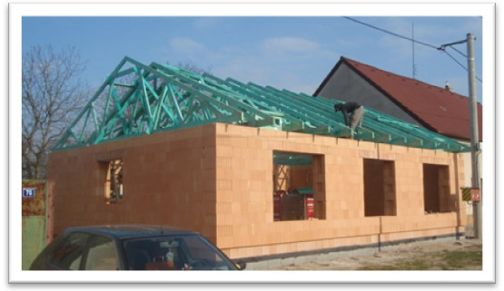 Sedlová střecha