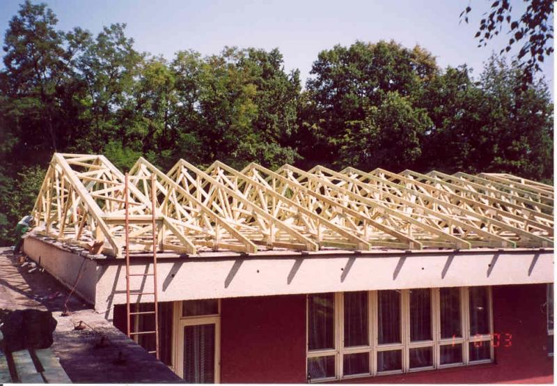 výhody a nevýhody střešních vazníků